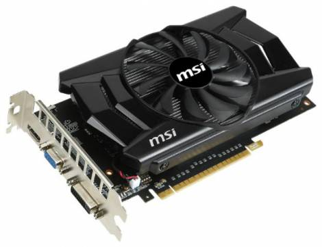Видеокарта MSI GeForce GTX 750 (1059МГц, GDDR5 1024Мб 5000МГц 128 бит)