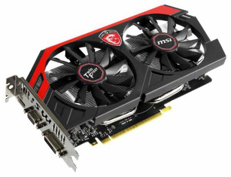 Видеокарта MSI GeForce GTX 750 Ti (1050МГц, GDDR5 2048Мб 5400МГц 128 бит)