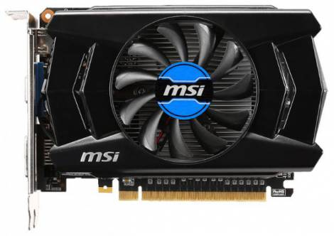 Видеокарта MSI GeForce GTX 750 Ti (1059МГц, GDDR5 2048Мб 5400МГц 128 бит)