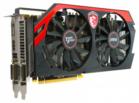 Видеокарта MSI GeForce GTX 760 (1085МГц, GDDR5 4096Мб 6008МГц 256 бит)