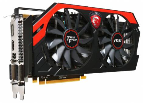 Видеокарта MSI GeForce GTX 770 (1072МГц, GDDR5 2048Мб 7010МГц 256 бит)