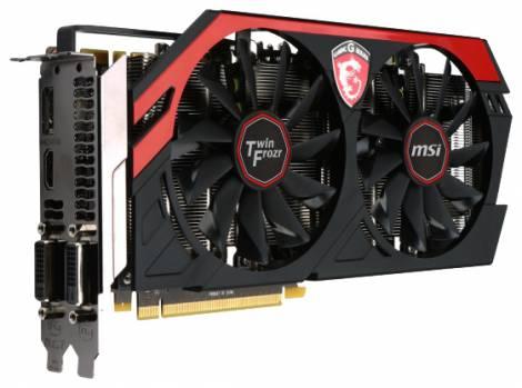 Видеокарта MSI GeForce GTX 770 (1137МГц, GDDR5 4096Мб 7010МГц 256 бит)