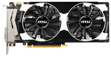 Видеокарта MSI GeForce GTX 950 (1076МГц, GDDR5 2048Мб 6610МГц 128 бит)