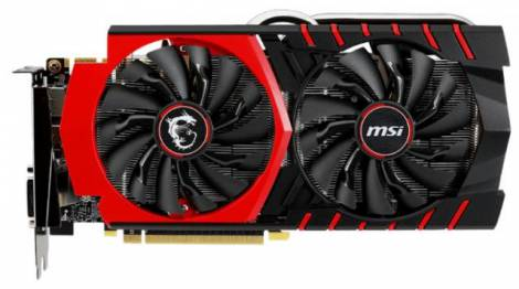 Видеокарта MSI GeForce GTX 970 (1076МГц, GDDR5 4096Мб 7010МГц 256 бит)