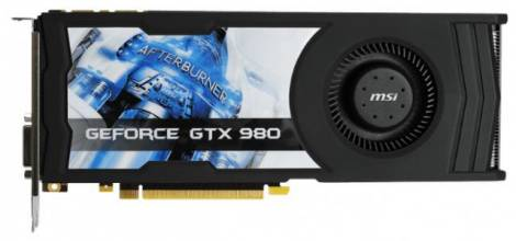 Видеокарта MSI GeForce GTX 980 (1152МГц, GDDR5 4096Мб 7010МГц 256 бит)