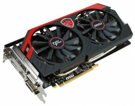 Видеокарта MSI Radeon R9 270X (1030МГц, GDDR5 2048Мб 5600МГц 256 бит)