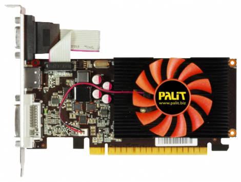 Видеокарта Palit GeForce GT 440 (780МГц, GDDR3 1024Мб 1400МГц 128 бит)