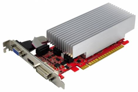Видеокарта Palit GeForce GT 520 (810МГц, GDDR3 1024Мб 1070МГц 64 бит)