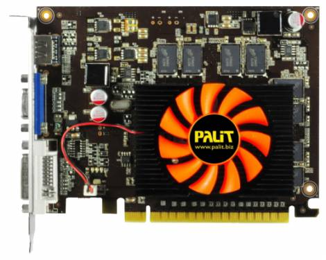 Видеокарта Palit GeForce GT 630 (780МГц, GDDR3 2048Мб 1070МГц 128 бит)
