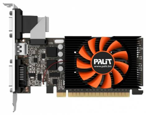 Видеокарта Palit GeForce GT 640 (1046МГц, GDDR5 1024Мб 5010МГц 64 бит)