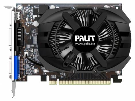 Видеокарта Palit GeForce GT 740 (1058МГц, GDDR5 2048Мб 5000МГц 128 бит)