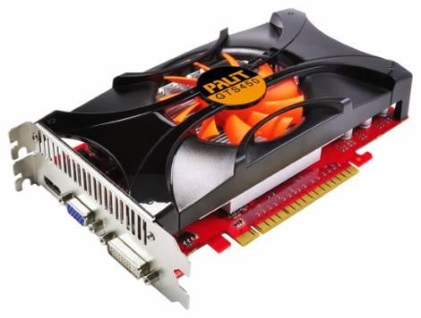 Видеокарта Palit GeForce GTS 450 (783МГц, GDDR5 512Мб 3608МГц 128 бит)
