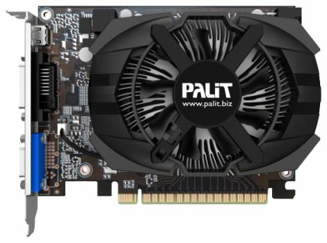 Видеокарта Palit GeForce GTX 650 (1058МГц, GDDR5 2048Мб 5000МГц 128 бит)