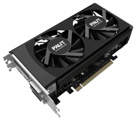 Видеокарта Palit GeForce GTX 650 Ti Boost (1006МГц, GDDR5 2048Мб 6108МГц 192 бит)