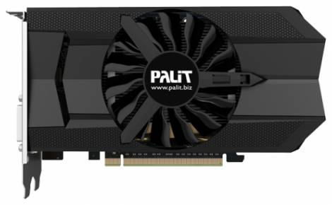 Видеокарта Palit GeForce GTX 650 Ti Boost (980МГц, GDDR5 1024Мб 5010МГц 192 бит)