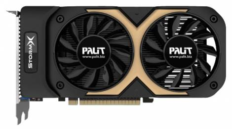 Видеокарта Palit GeForce GTX 750 Ti (1202МГц, GDDR5 2048Мб 6008МГц 128 бит)