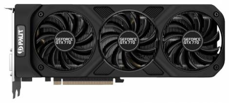 Видеокарта Palit GeForce GTX 770 (1046МГц, GDDR5 2048Мб 7010МГц 256 бит)