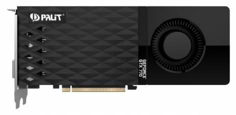Видеокарта Palit GeForce GTX 770 (1046МГц, GDDR5 2048Мб 7010МГц 256 бит)