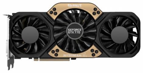 Видеокарта Palit GeForce GTX 770 (1085МГц, GDDR5 2048Мб 7010МГц 256 бит)