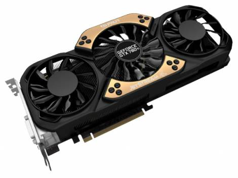 Видеокарта Palit GeForce GTX 780 Ti (980МГц, GDDR5 3072Мб 7000МГц 384 бит)