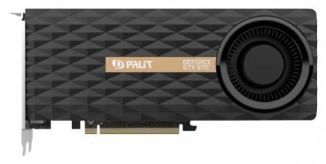 Видеокарта Palit GeForce GTX 970 (1051МГц, GDDR5 4096Мб 7000МГц 256 бит)