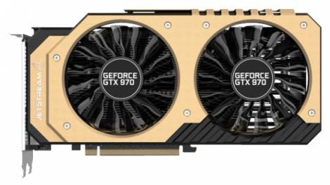 Видеокарта Palit GeForce GTX 970 (1152МГц, GDDR5 4096Мб 7000МГц 256 бит)