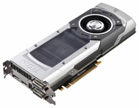 Видеокарта Palit GeForce GTX TITAN (837МГц, GDDR5 6144Мб 6008МГц 384 бит)