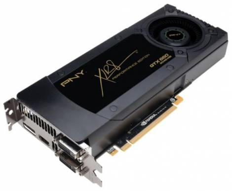 Видеокарта PNY GeForce GTX 660 (980МГц, GDDR5 2048Мб 6008МГц 192 бит)