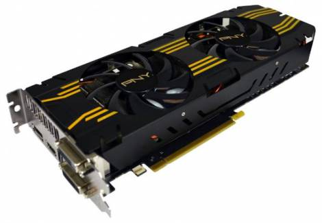 Видеокарта PNY GeForce GTX 770 (1150МГц, GDDR5 2048Мб 7200МГц 256 бит)