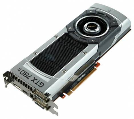 Видеокарта PNY GeForce GTX 780 Ti (875МГц, GDDR5 3072Мб 7000МГц 384 бит)