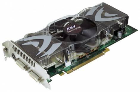 Видеокарта PNY Quadro FX 5500 (700МГц, GDDR3 1024Мб 1000МГц 256 бит)