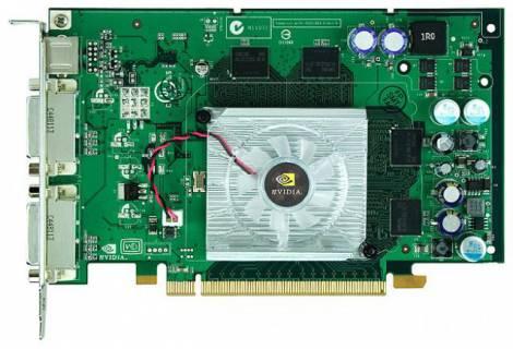 Видеокарта PNY Quadro FX 560 (350МГц, GDDR3 128Мб 1200МГц 128 бит)