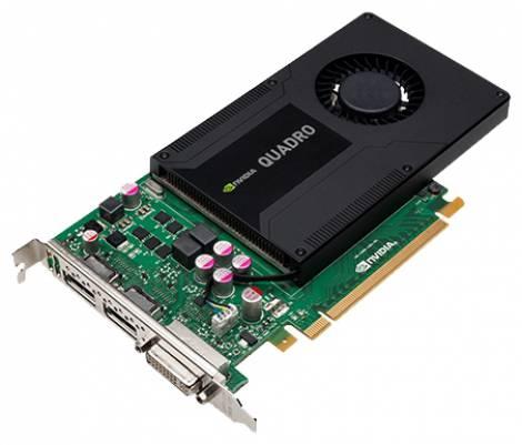 Видеокарта PNY Quadro K2000 (800МГц, GDDR5 2048Мб 1000МГц 128 бит)