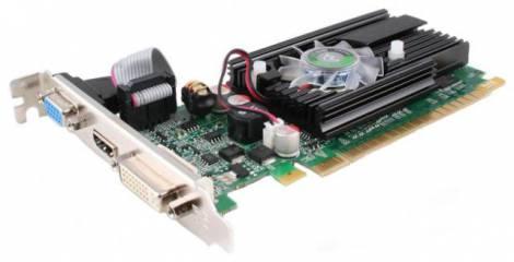 Видеокарта Point of View GeForce GT 520 (810МГц, GDDR3 2048Мб 1066МГц 64 бит)