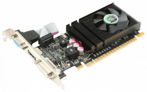 Видеокарта Point of View GeForce GT 610 (810МГц, GDDR3 2048Мб 1066МГц 64 бит)