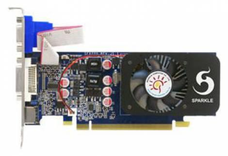 Видеокарта Sparkle GeForce GT 240 (550МГц, GDDR3 1024Мб 1580МГц 128 бит)
