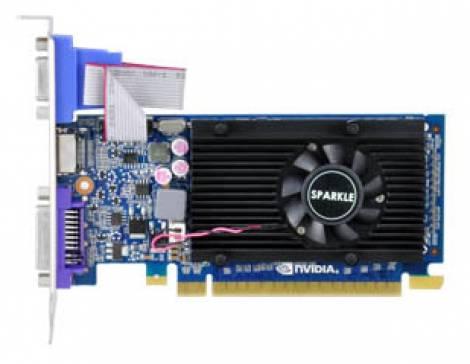 Видеокарта Sparkle GeForce GT 520 (810МГц, GDDR3 1024Мб 1800МГц 64 бит)
