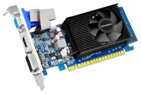 Видеокарта Sparkle GeForce GT 610 (810МГц, GDDR3 1024Мб 1000МГц 64 бит)