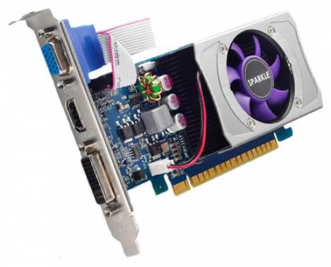Видеокарта Sparkle GeForce GT 620 (700МГц, GDDR3 1024Мб 1000МГц 64 бит)