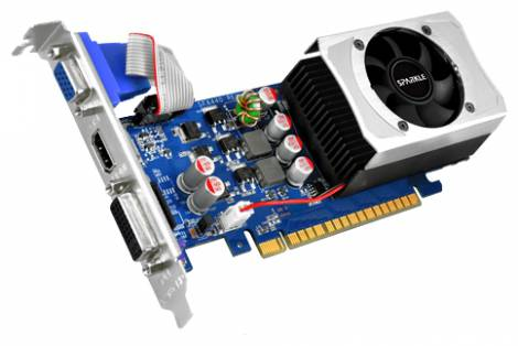 Видеокарта Sparkle GeForce GT 630 (810МГц, GDDR3 1024Мб 1000МГц 128 бит)
