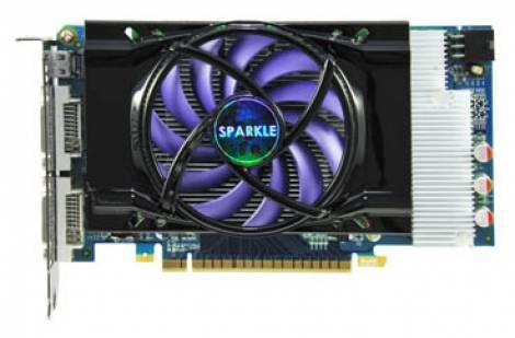 Видеокарта Sparkle GeForce GTS 450 (783МГц, GDDR5 512Мб 3608МГц 128 бит)