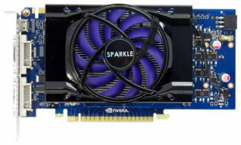 Видеокарта Sparkle GeForce GTS 450 (789МГц, GDDR5 1024Мб 3760МГц 128 бит)