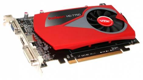 Видеокарта VTX3D Radeon HD 7750 (800МГц, GDDR3 4096Мб 1600МГц 128 бит)