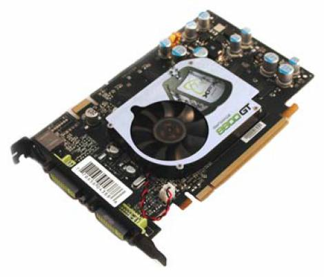 Видеокарта XFX GeForce 8600 GT (540МГц, GDDR3 256Мб 1400МГц 128 бит)