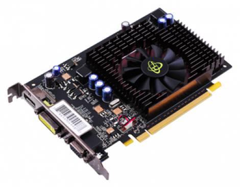 Видеокарта XFX GeForce GT 220 (625МГц, GDDR2 1024Мб 800МГц 128 бит)