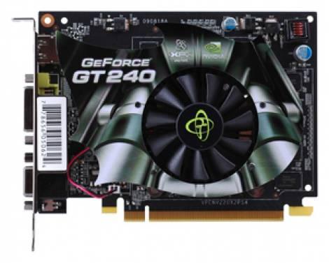 Видеокарта XFX GeForce GT 240 (550МГц, GDDR3 512Мб 2000МГц 128 бит)