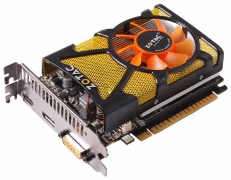 Видеокарта ZOTAC GeForce GT 440 (810МГц, GDDR3 1024Мб 1600МГц 128 бит)