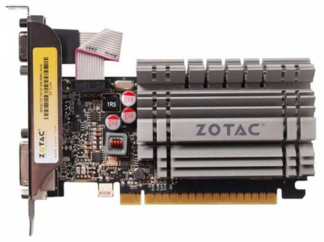 Видеокарта ZOTAC GeForce GT 730 (902МГц, GDDR3 2048Мб 1600МГц 64 бит)