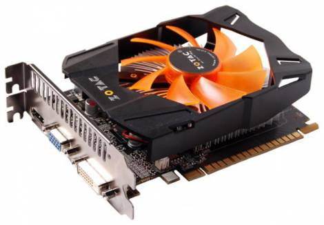 Видеокарта ZOTAC GeForce GTX 650 (1058МГц, GDDR5 2048Мб 5000МГц 128 бит)