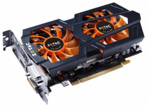 Видеокарта ZOTAC GeForce GTX 650 Ti Boost (993МГц, GDDR5 2048Мб 6008МГц 192 бит)